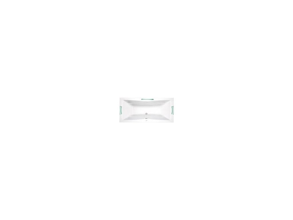 TEIKO Vana Corona obdélníková 180 x 80 cm - HTP systém ECO AIR V212180N04T05221