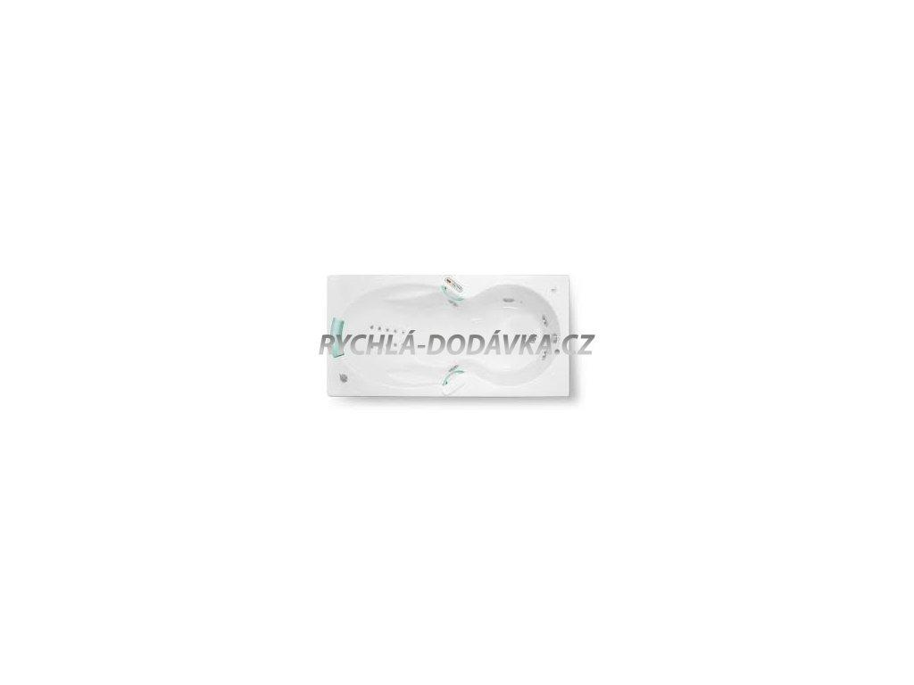 TEIKO Vana Apollonia hydromasážní 180 x 90 cm - HTP systém DUO LIGHT V217180N04T03061