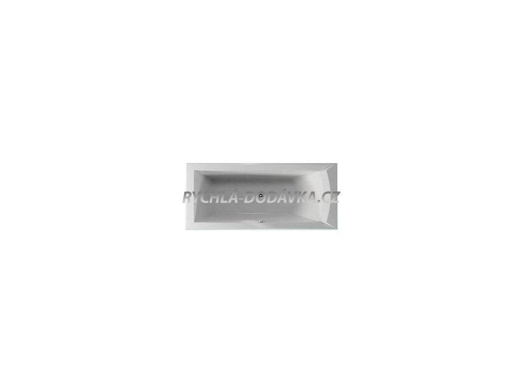 TEIKO Vana Porta 170 L obdélníková 170 x 76 cm - HTP systém DUO LIGHT levá V212170L04T01061