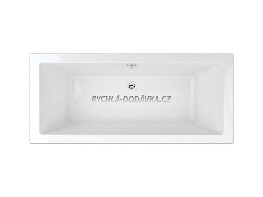 TEIKO Varadero vana 190 x 90 x 49,5 cm, akrylátová, bílá V112190N04T06001  Nohy zdarma