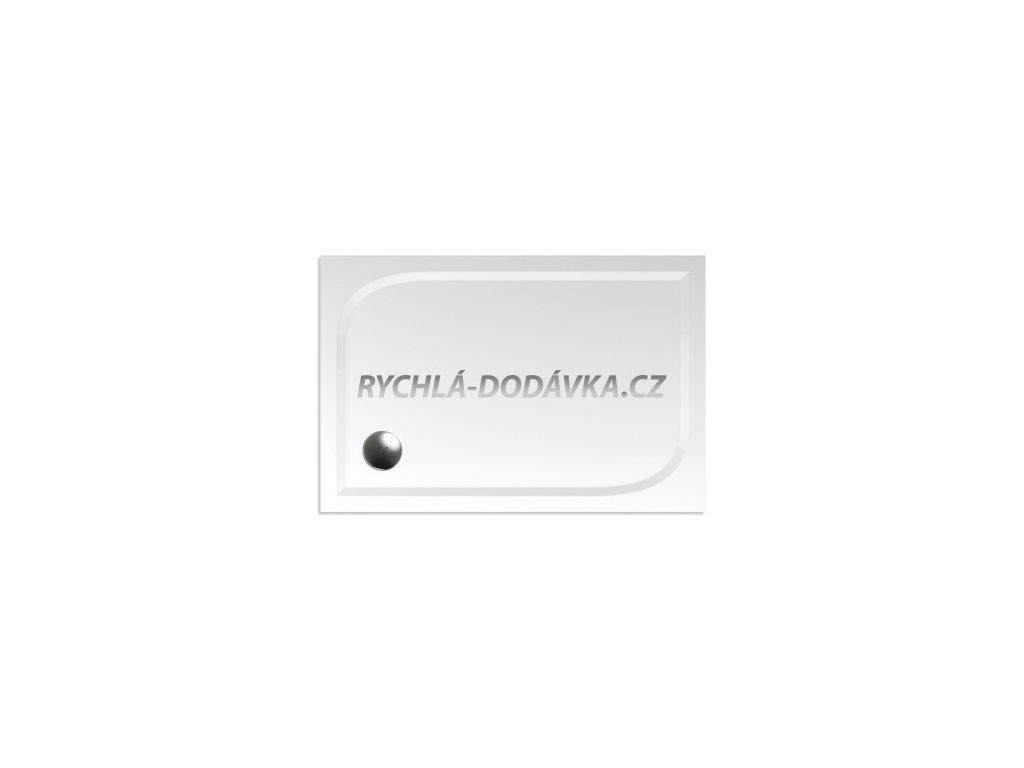 Teiko sprchová vanička  Draco 120 x 80 litý mramor-draco12080