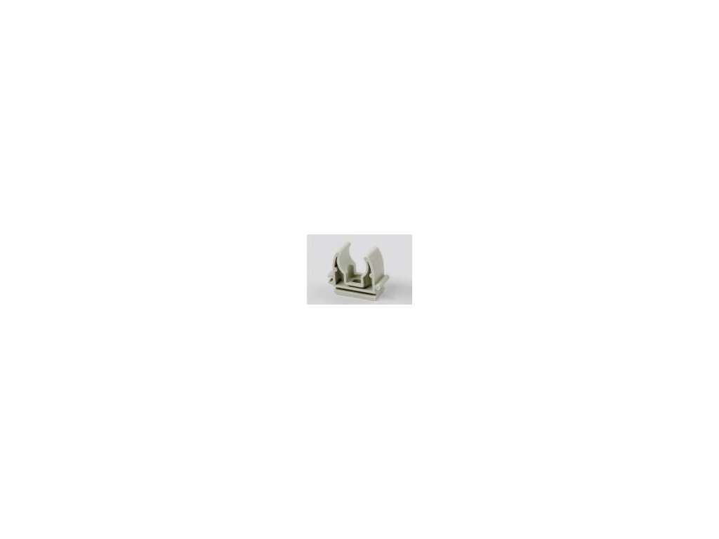 Příchytka na PPR trubky 40 jednoduchá-pprp40