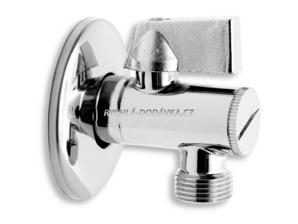 """Novaservis Rohový ventil s filtrem hliníková páka 1/2""""x 3/8"""" CF3008/10"""