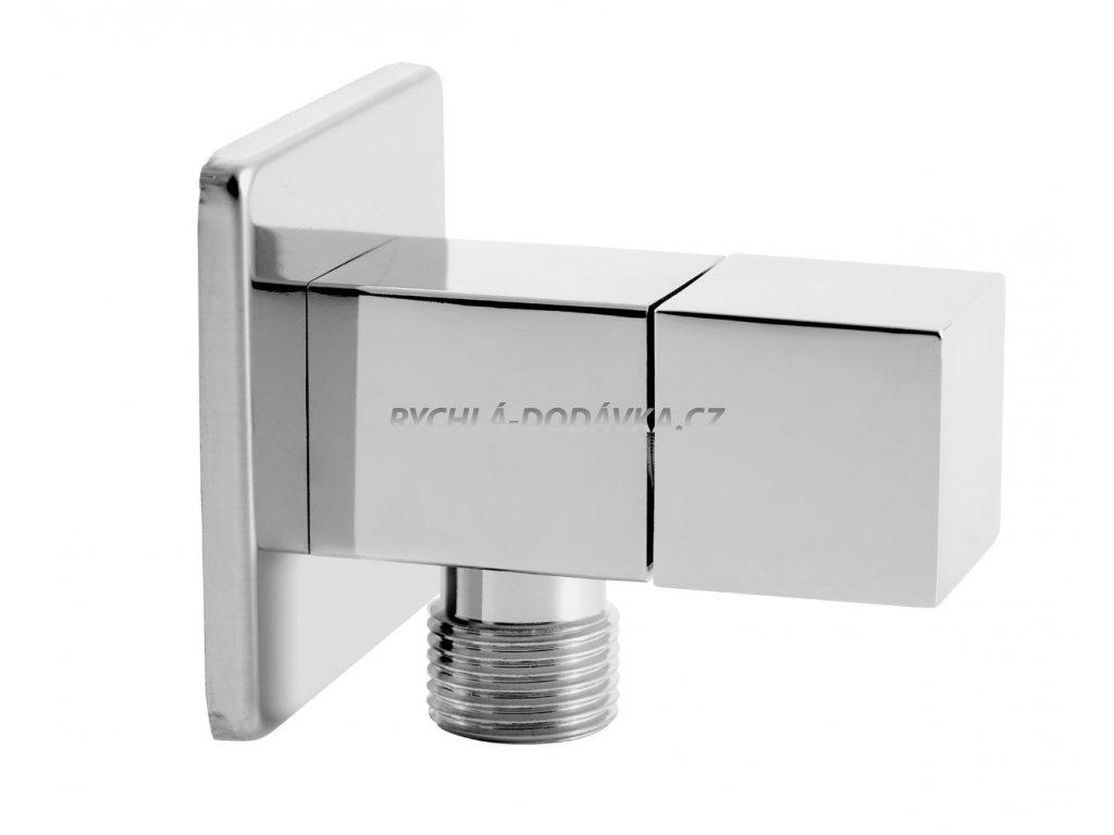 Novaservis Rohový ventil keramický s krytkou a kovovou pákou 1/2x3/8 CF3013/10
