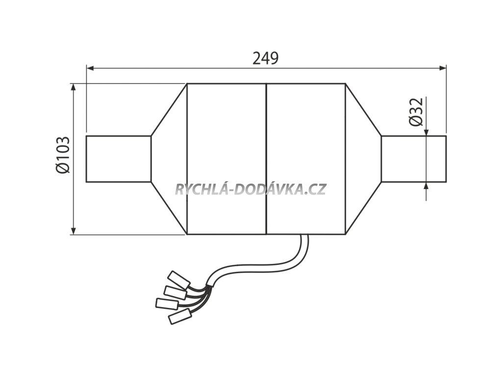 Alcaplast Ventilátor pro předstěnové instalační systémy s odvětráváním P128