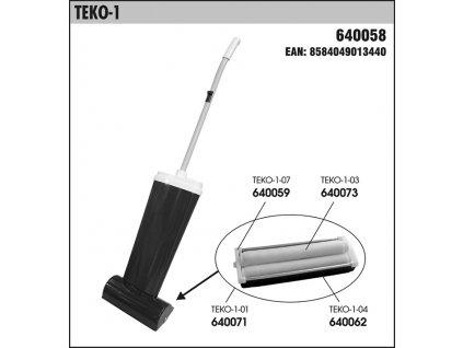Náhradní čistící zařízení pro tepovač TEKO-1 - 01-640071