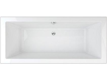 TEIKO Varadero vana 180 x 80 x 49,5 cm, akrylátová, bílá V112180N04T09001  Nohy zdarma