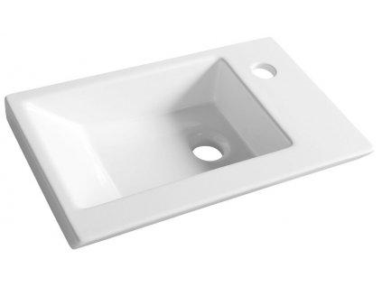 Aqualine ZORAN nábytkové umyvadlo 45x27,5 cm 4045