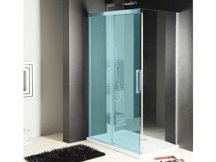 Gelco FONDURA boční stěna 800mm, čiré sklo GF5080