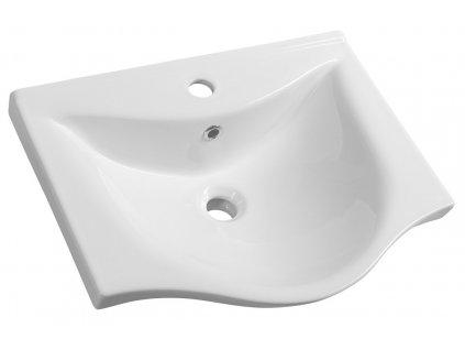 Aqualine ZARA 55 nábytkové umyvadlo 54x44,5cm 10055