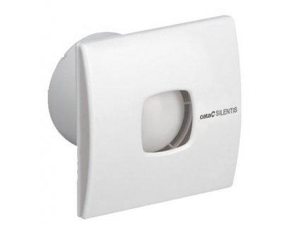 Cata SILENTIS 15 T koupelnový ventilátor axiální s časovačem, 25W, potrubí 150mm,bílá 01091000