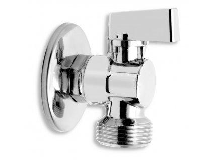 """Novaservis Pračkový rohový ventil se zpětnou klapkou 1/2""""x3/4"""" CF3027"""