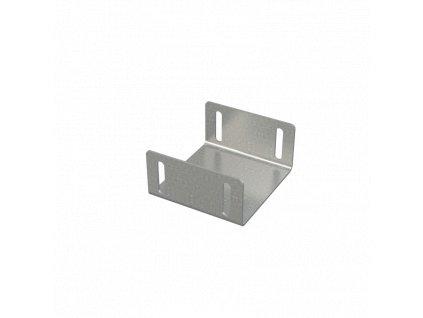 Alcaplast Propojka drenážního žlabu 100 mm, pozinkovaná ocel ADZ-P008
