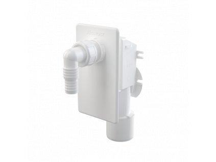 Alcaplast Sifon pračkový podomítkový, bílá APS4
