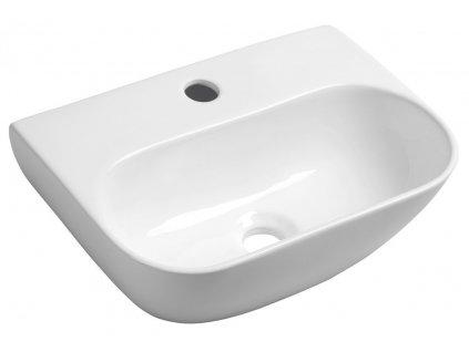 Sapho NERISSA keramické umývátko 41,5x12,5x28,5 cm AR265