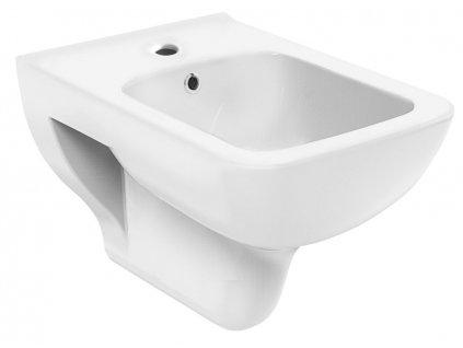 Aqualine BENE bidet závěsný, 35,5x50 cm, bílá BN510