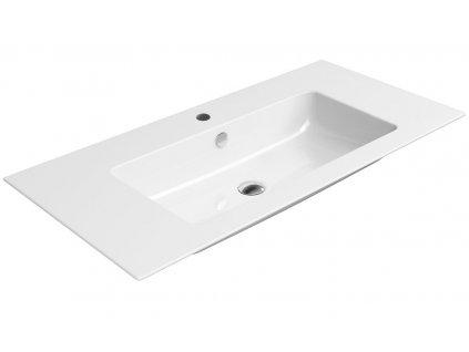 GSI PURA keramické umyvadlo slim 100x50 cm, bílá ExtraGlaze 8844111