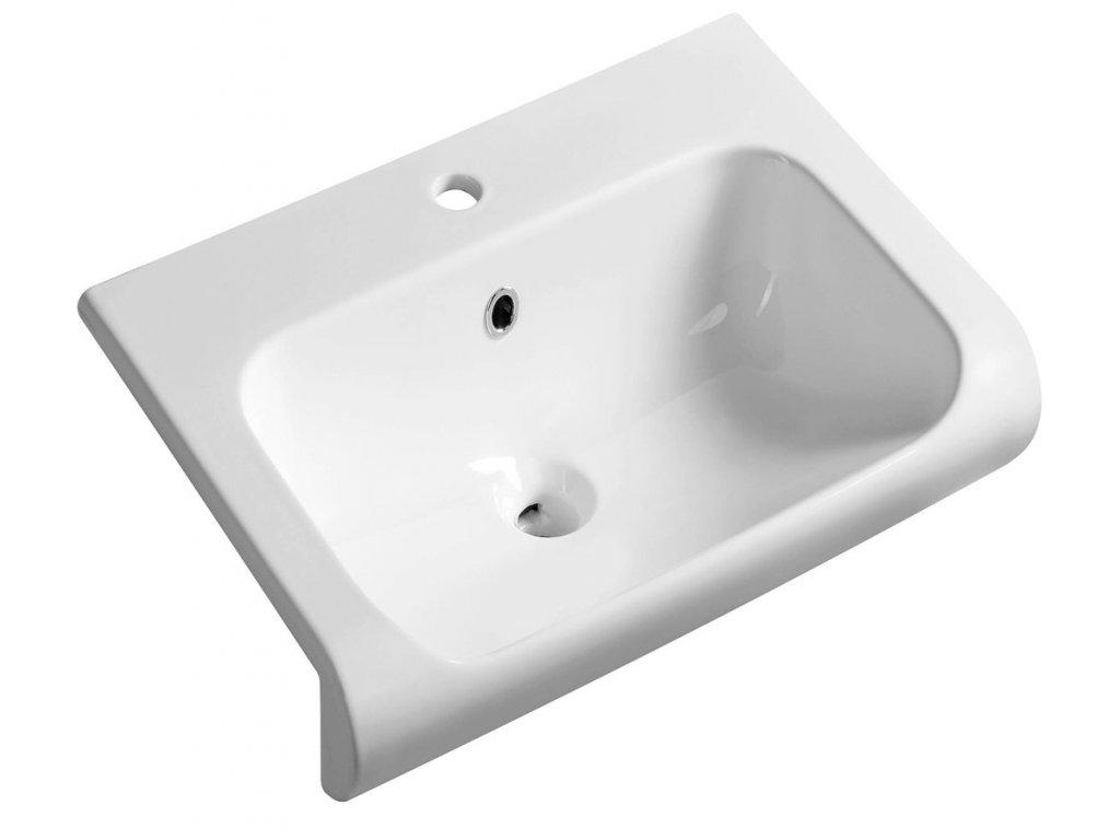 Polozápustné umývadlá