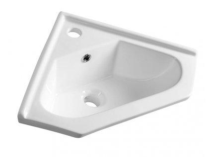 Rohová umývadlá