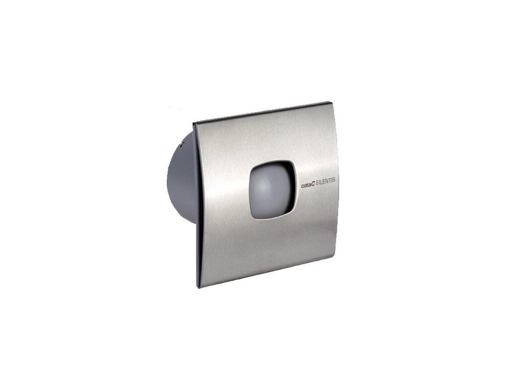 Cata SILENTIS 12 INOX T kúpeľňový ventilátor axiálny,časovač,20W,potrubie120mm, nerez 01081300