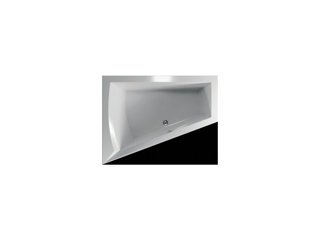 TEIKO Vaňa Galia L rohová 175 x 135 cm - HTP systém DUO PNEU, ľavá V210175L04T01041