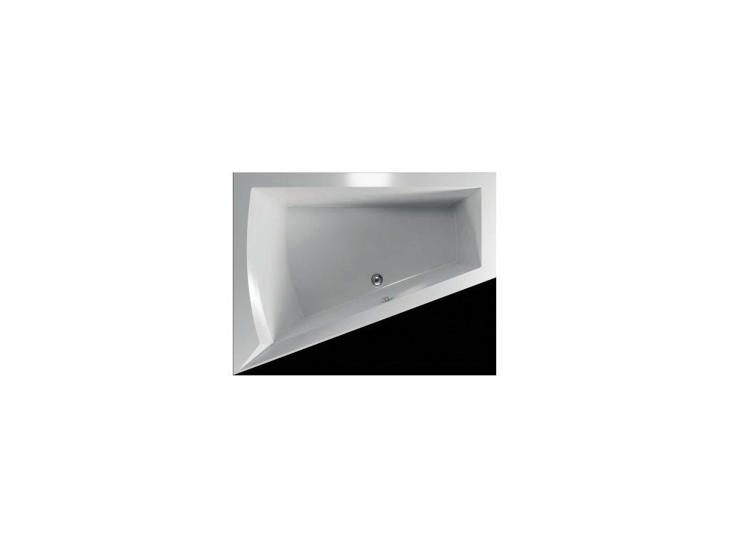 TEIKO Vaňa Galia L rohová 175 x 135 cm - HTP systém WINDY, ľavá V210175L04T01031