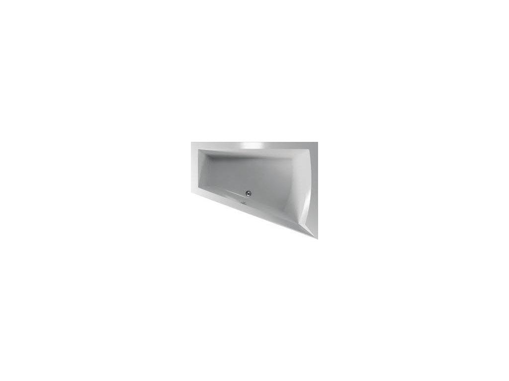 TEIKO Vaňa Galia P rohová 175 x 135 cm - HTP systém BASIC, pravá V210175R04T01011