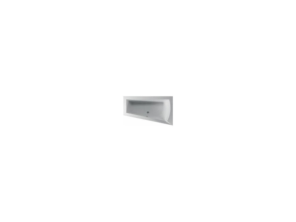 TEIKO Vaňa NERA 170 P asymetrická 170 x 100 cm - HTP systém DUO LIGHT pravá V210170R04T02061