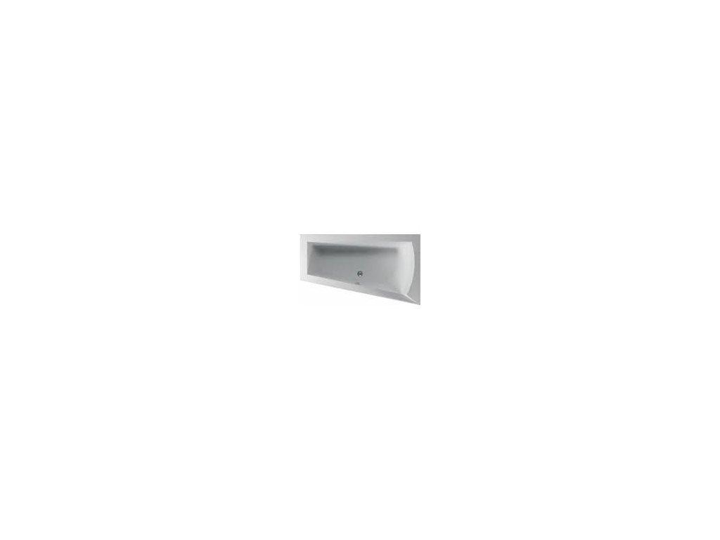 TEIKO Vaňa NERA 170 P asymetrická 170 x 100 cm - HTP systém DUO PNEU pravá V210170R04T02041