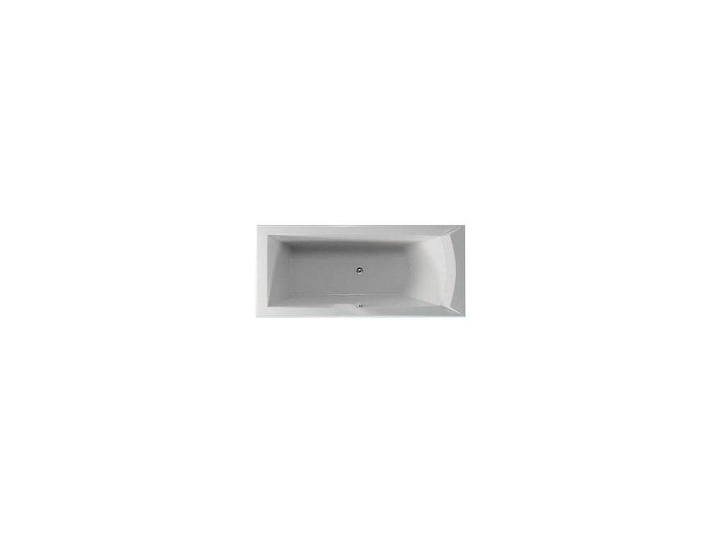 TEIKO Vaňa Porta 180 L obdélníková 180 x 80 cm - HTP systém ECO HYDROAIR ľavá V212180L04T02231