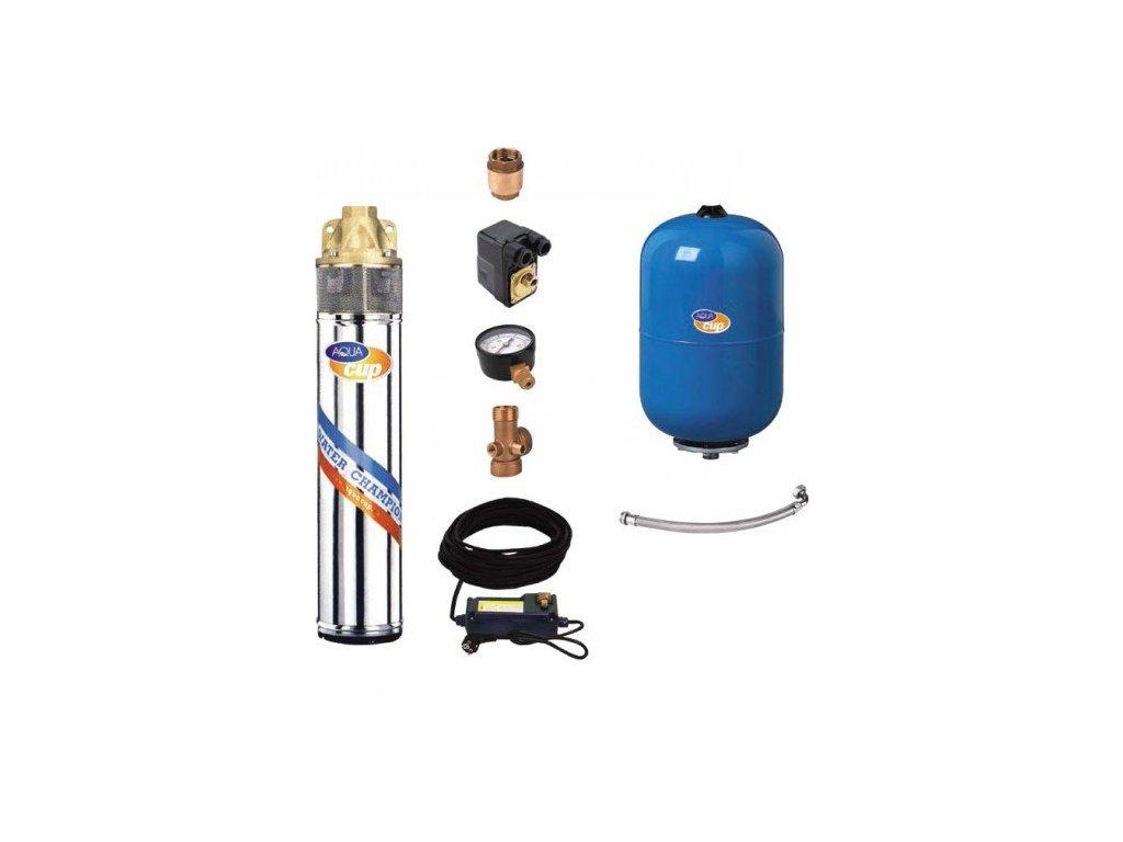 Aquacup Domáca vodáreň SUB CONTROL 24-40 / 55 M (20 m kábel)