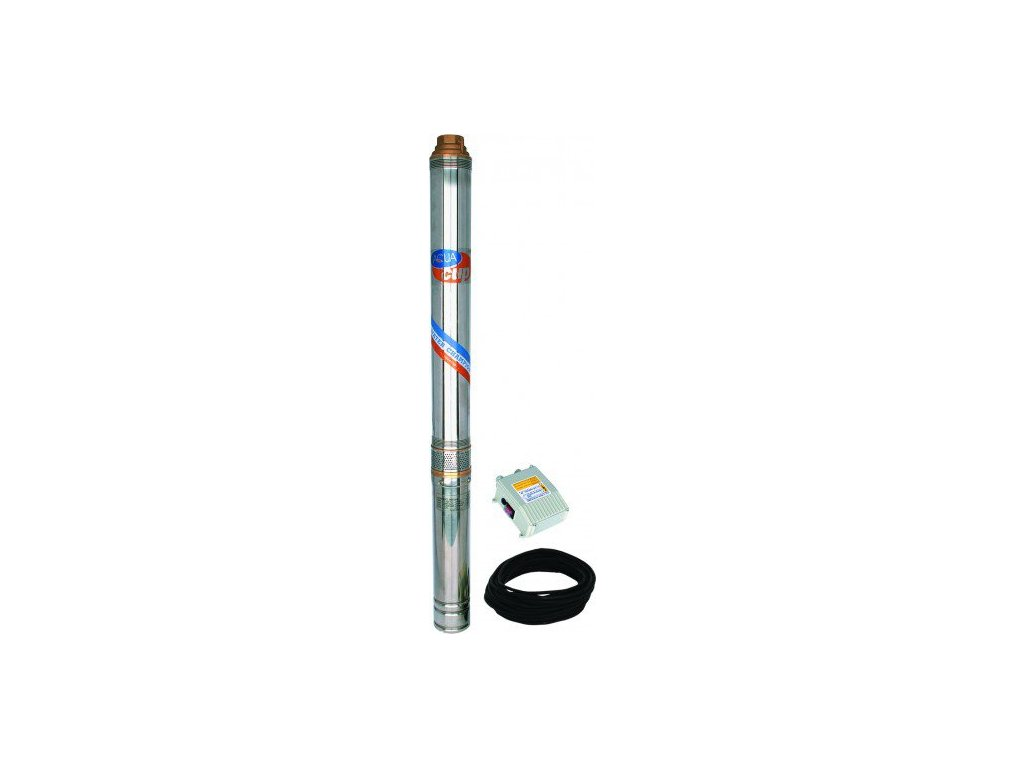 "Aquacup Tlaková jedno alebo viacstupňové čerpadlá 4 ""ELECTRA 80/72 M (25 m kábel)"