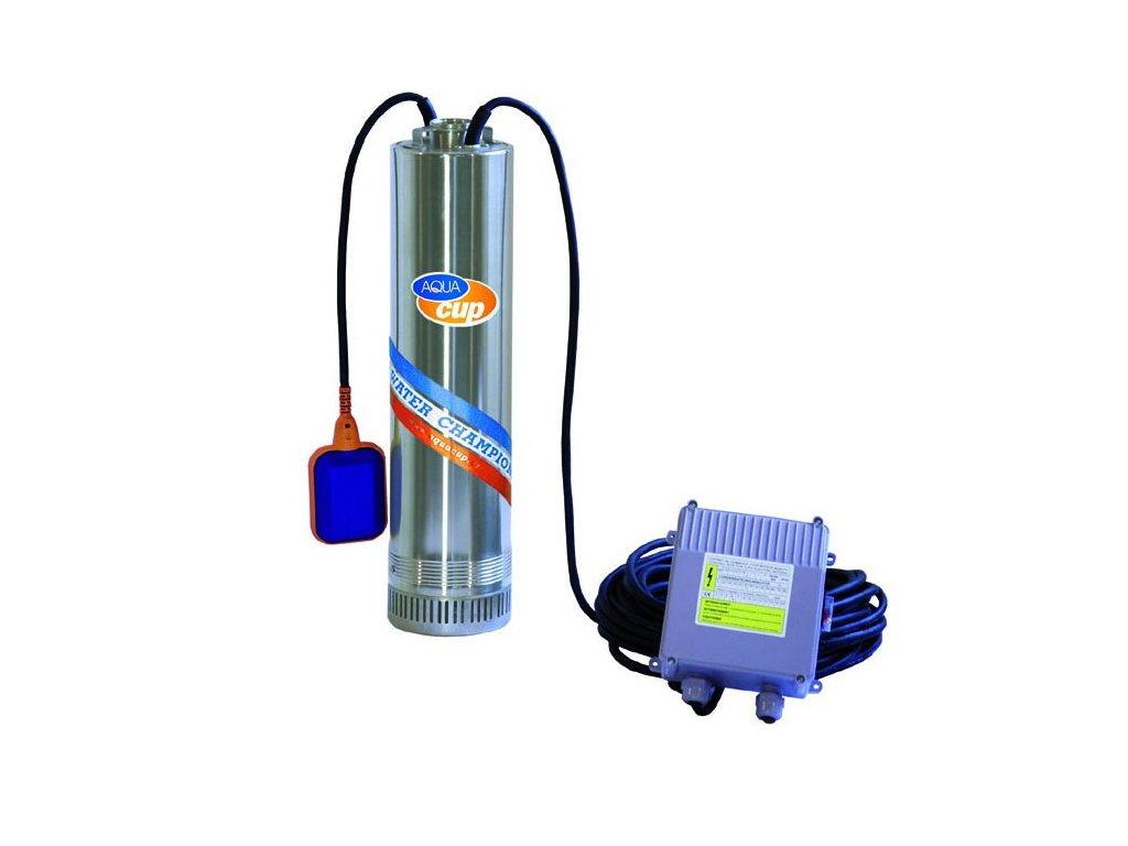"""Aquacup Ponorné viacstupňové čerpadlo so spodným nasávaním 5 """"AQ-TEC 1500 AUT"""