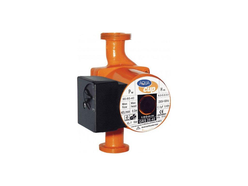 Aquacup Obehové teplovodné čerpadlá GRS 25-40 (180 mm)