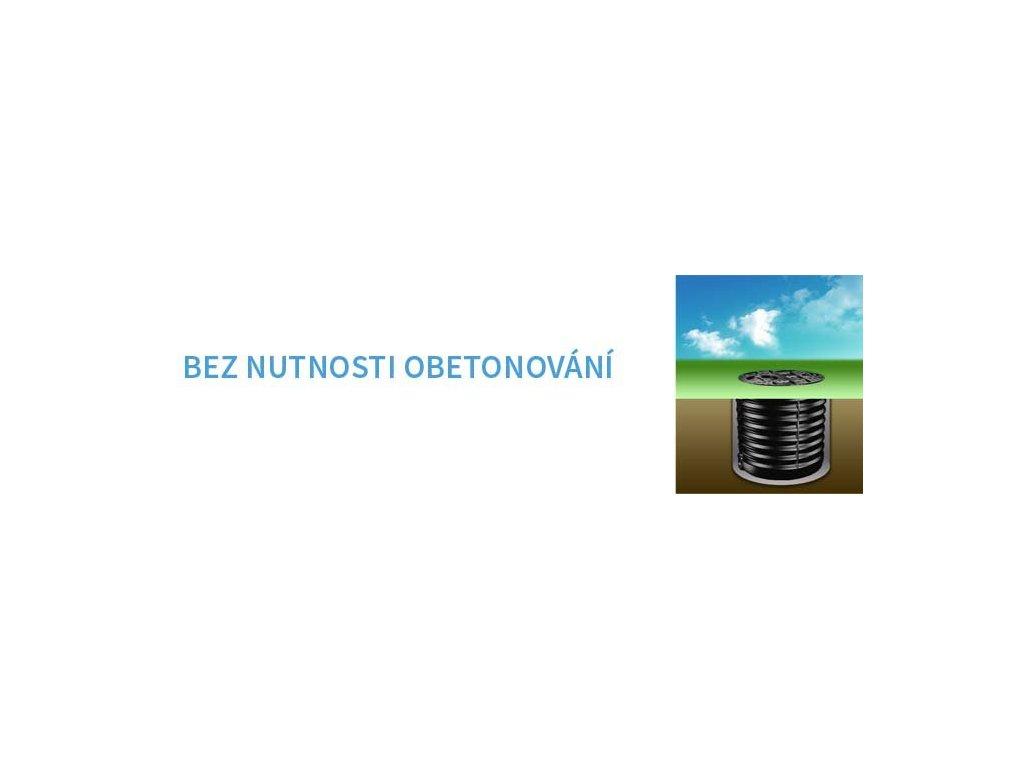 Aquacup Podzemné nádrže a lapača - HORIZONTÁLNE HZ 3000