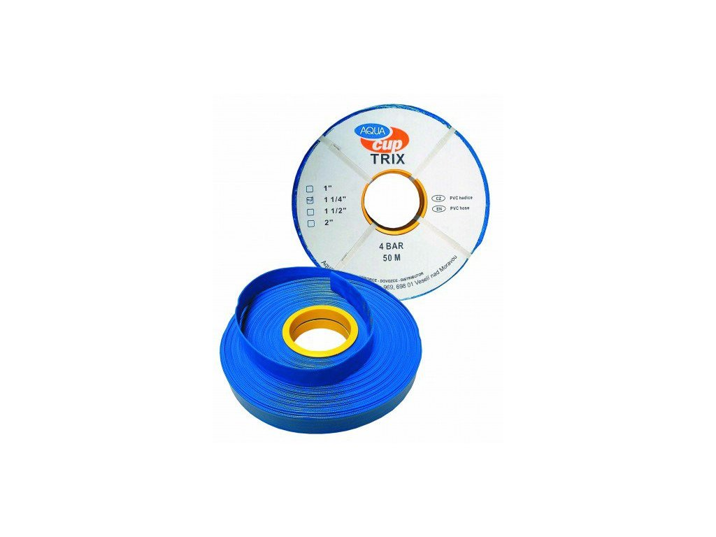 """Aquacup TRIX - 50 m PVC hadica s výstužou TRIX 6/4 """""""