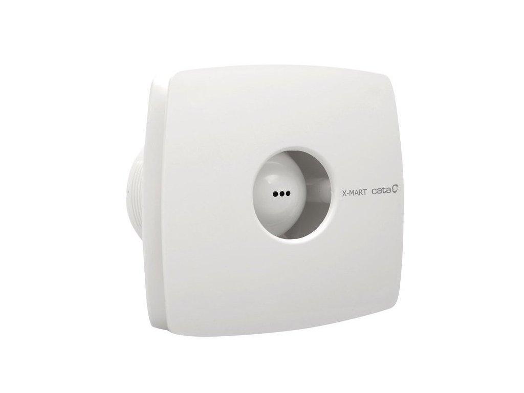 Cata X-MART 12T kúpeľňový ventilátor axiálny s časovačom, 20W, potrubie 120mm, biela 01021000