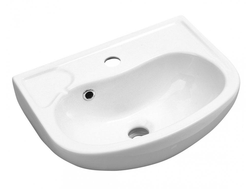 Aqualine Keramické umývadlo 45x35cm (3019) 10TP71045