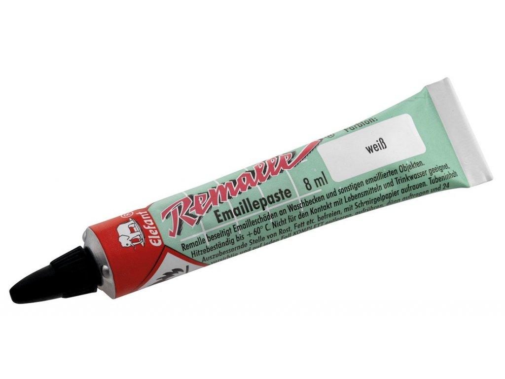 Aqualine REMALLE opravný smalt, 8 ml, biela REM0