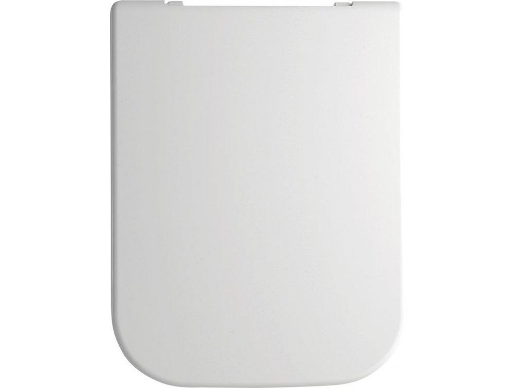 GSI TRACCIA WC sedátko Soft Close, duroplast, biela MS69CN11