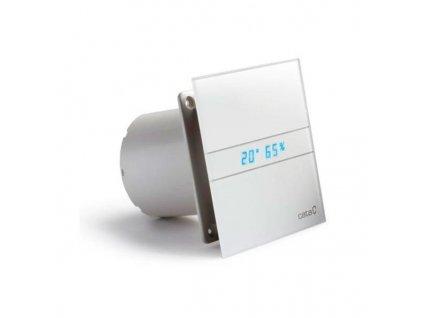 Cata E-150 GTH kúpeľňový ventilátor axiálny s automatom, 10W/19W, potrubie 150mm, bie 00902200
