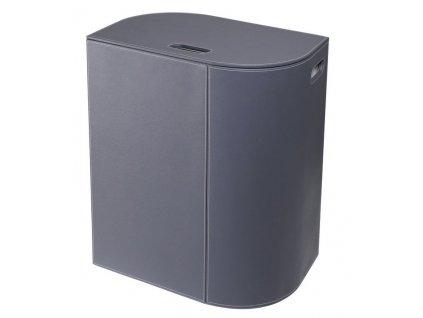 Sapho VELA kôš na prádlo 48,5x61x32cm, sivá 2464GR