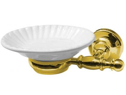Sapho PERLA mydeľnička, zlato PE1065