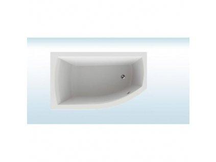 Teiko Thera New Vaňa akrylátová 170 x 98 cm ľavá, biela včetně nohou V110170L04T03001  Nohy zdarma
