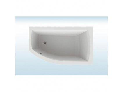 TEIKO Vaňa THERA NEW 170 x 98 Pravá rohová akrylátová biela V110170R04T03001  Nohy zdarma