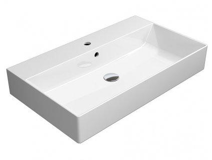 GSI KUBE X umývadlo 80x47 cm, ExtraGlaze 9422111