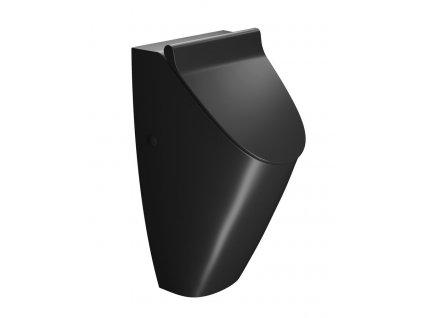 GSI SAND Pisoár s otvormi pre veko, čierna matná 909826