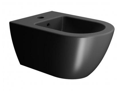 GSI PURA bidet závesný 55x36 cm, čierna matná 8865126