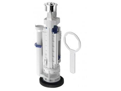 Geberit Vypúšťací ventil typ 290, 2 množstvá splachovania, pochrómovaná lesklá 282.350.21.2