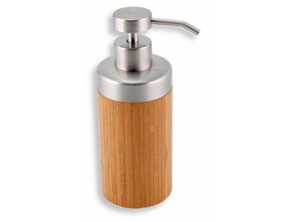 Novaservis Dávkovač mydla na postavenie BAMBUS chróm-bambus 66255/1,6